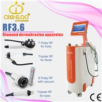 RF3.6 hot-selling  cavitation rf vacuum machine for weight loss&skin tightening
