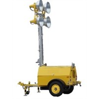 Mobile Diesel Powered Light Towers