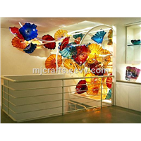 Modern wholesale decorative handblown murano art glass