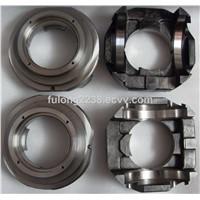 Rexroth #AA11VLO250 pump part (bearing flange, barrel, drive shaft, valve plate, drive shaft)