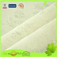 Flower Jacquard Elastic Netting Knitting Stretch Underwear Fabric (JNS009)