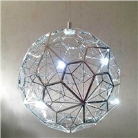 European stainless steel LED chandelier,chrome pendant light