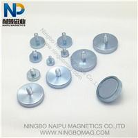 Znic coating thread magnetic pot