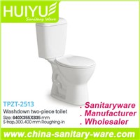Washdown Two Piece Ceramic Toilet