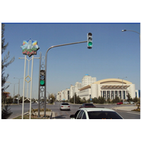 Aluminum traffic signal light pole