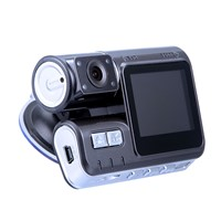 Car Security Dashboard Camera with Suction Cup 2.4-inch TFT Display Night Vision WDR