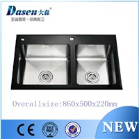 DS8650 Handmade Stainless Steel Sinks