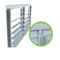 Pig ventilation product-PVC shutter with linkage