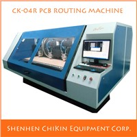 CNC 4 Spindles Printed Circuit Board PCB Routing Machine