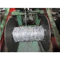 electro-galvanized  barbed wire exported to Middle East