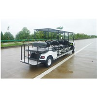 The electric engine golf cart with factory price