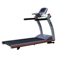 2015 new design commercial motorized treadmill with 3HP DC motor/TV/MP3/LED