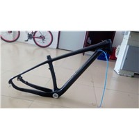 "Full Carbon Glossy Mountain Bike 29ER MTB BSA 18"" Bicycle Frame"