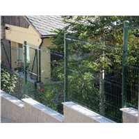 For Park Community garden Bending Triangular Weld mesh FENCING