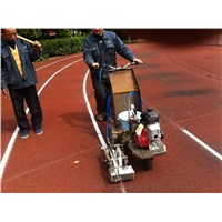 9.5Hp Honda engine line marking machine for running track
