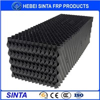 Cooling tower fill, cooling tower filler