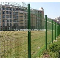 with Curve Cheap Welded Wire Mesh Fence for Boundary Wall