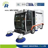 heavy electric sanitation sweeper