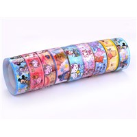 Cartoon Printed Stationery Tape with Tensile Strength