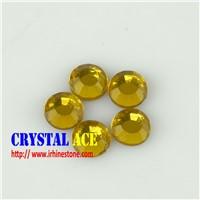 Flat back korean hot fix rhinestone crystal beads  strass stone