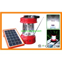 Solar Lantern for Camping with Mobile Phone Charger
