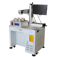 8 tools automatic Fiber laser marking machine for LED bulb industry
