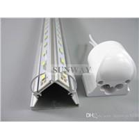 High brightness 4ft/5ft/6ft/8ft V shaped T8 LED tube cooler door light