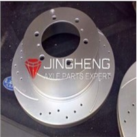 High performance dacromet brake rotors for trailers