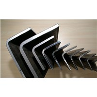 MS equal unequal black & galvanized steel angle bar