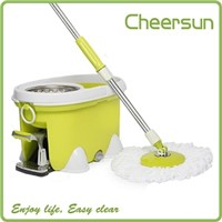 Stainless steel Magic spin Easy mop Foot pedal Rotate 360 mop