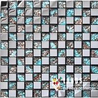 SA004-12,2015 New Metal Mosaic Tile.