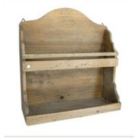 Small Wood Cup Hanger Rack / Shelf for Kitchen