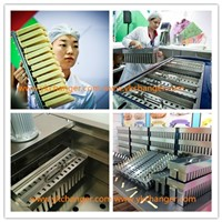 ice popsicle mold with extractor stainless steel