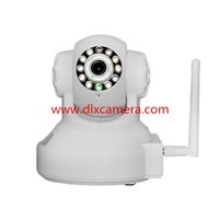 DLX-EH13B old people care 1.3Mp 32G SD Household  P2P PTZ WI-FI IP camera