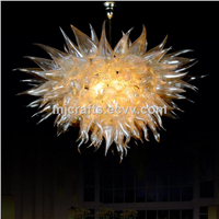 Modern blowing art decorating lighting murano glass chandelier
