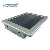 17'' industrial touch panel pc rs232*4/usb2.0*4/rj45*2