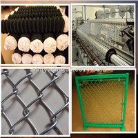 1.20mm-5.0mm Hot dipped galvanized / PVC coated  / stainless steel chain link fence on sale