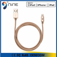 Top quality MFI USB data charger cable for iphone6 with free sample