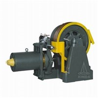 Geared Elevator Traction Machine , 2000-5000kg Rated Capacity , YJ336