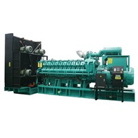 Large 2400kW 3000kVA Diesel Generator MW Power Plant