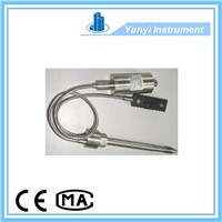 Melt pressure transducer and transmitter