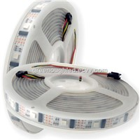 DC 12V 5050SMD RGB LED Strip Light/LPD6803 Flex LED Ribbon Light 7.2W