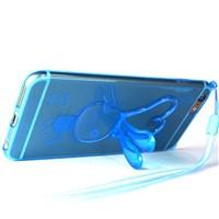 Soft TPE clear skin mobile phone case