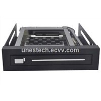 UNESTECH single bay 2.5in plastic hard drives for mobile rack HDD mobile case