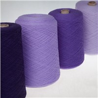 Woolen wool yarn for knitting and weaving