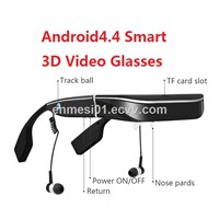 E613 Android 3D Video Glasses