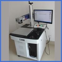 fiber marking machine on copper,aluminium,stainless steel,tungsten...