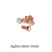 Agzno Silver Rivets/Contactor/electrical parts