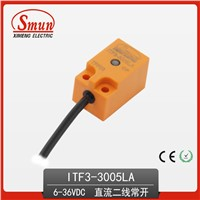 Inductive Proximity Sensor (ITF3-3005LA) 6-36VDC Two-Wires DC 5mm Detection Distance