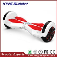 Newtwo wheel smart balance electric scooter with bluetooth speaker and LED display Board